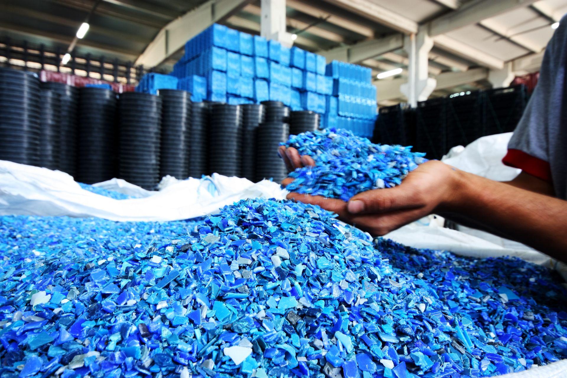 Виды вторичной переработки полимерных отходов