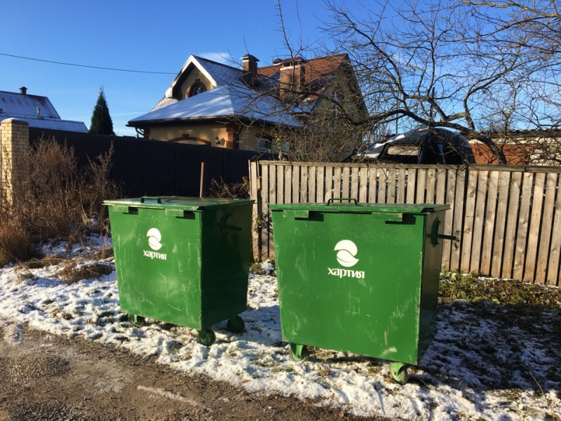 бак для сбора мусора в частном секторе