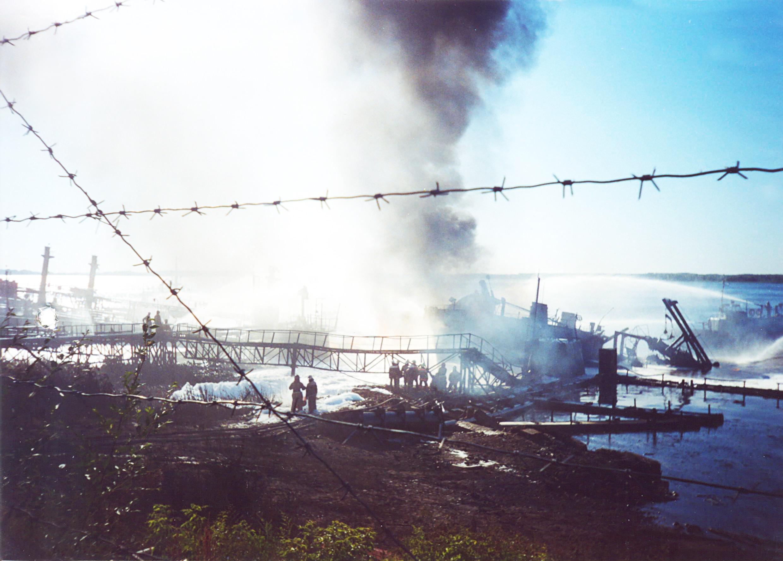 Как происходит загрязнение рек