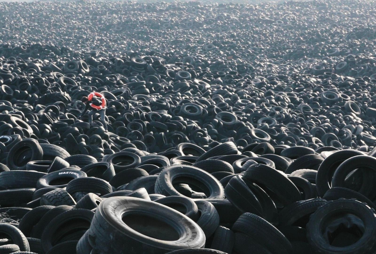 Мировые полигоны мусора