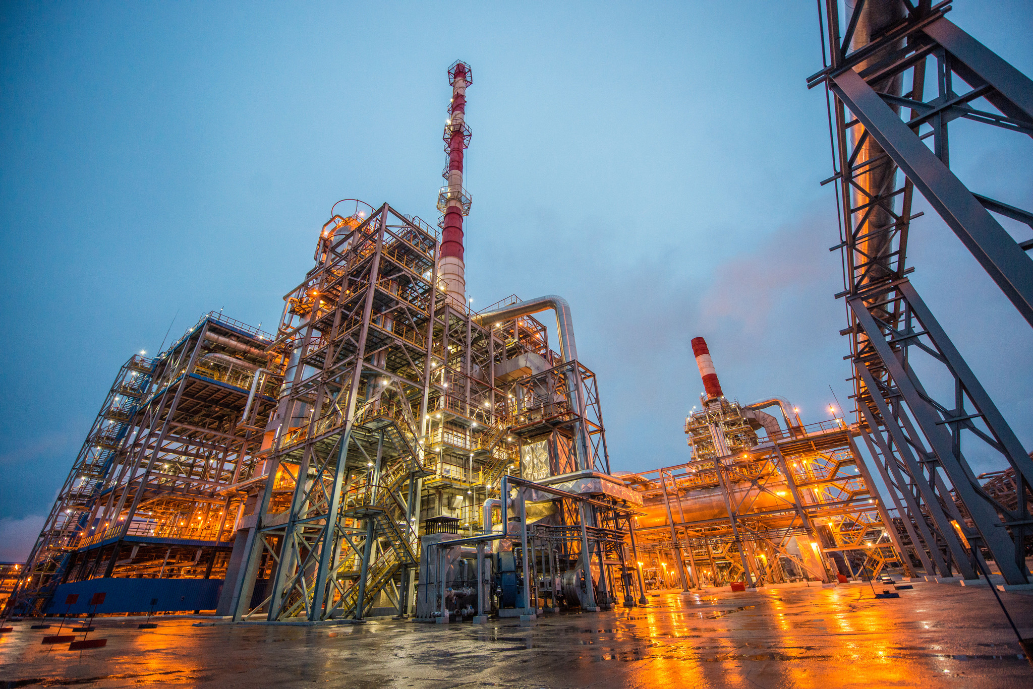 Развитие нефтедобычи на российском рынке
