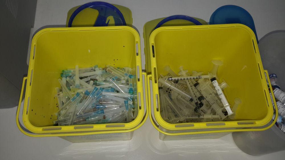 Утилизация медицинских отходов класса Б