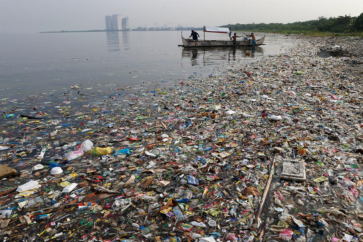 загрязнение воды свалками