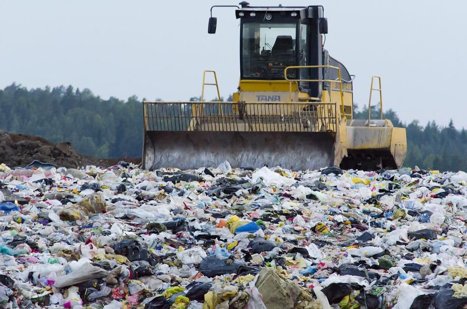 захоронение отходов на полигонах