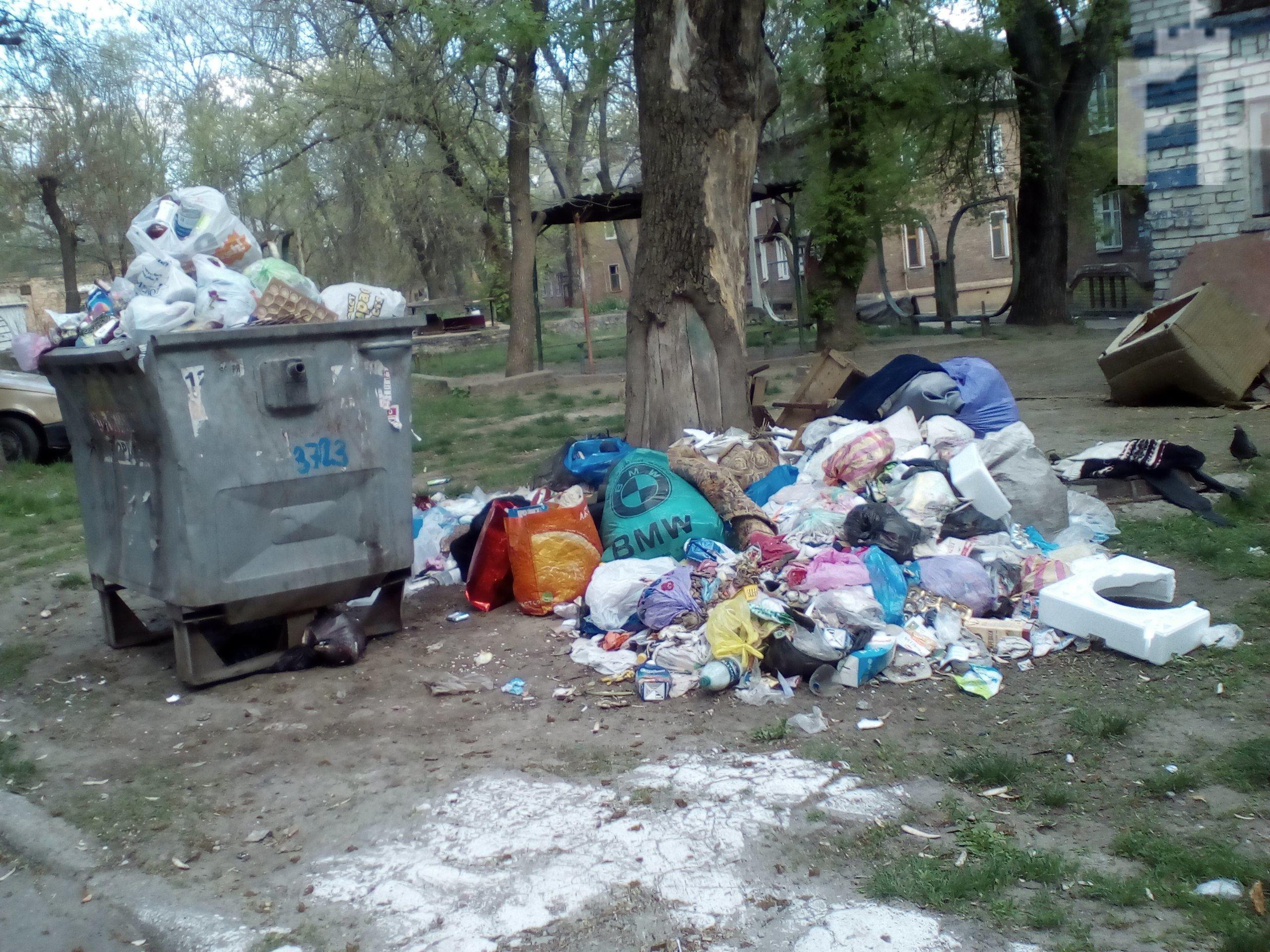 жалоба, если не вывозят мусор