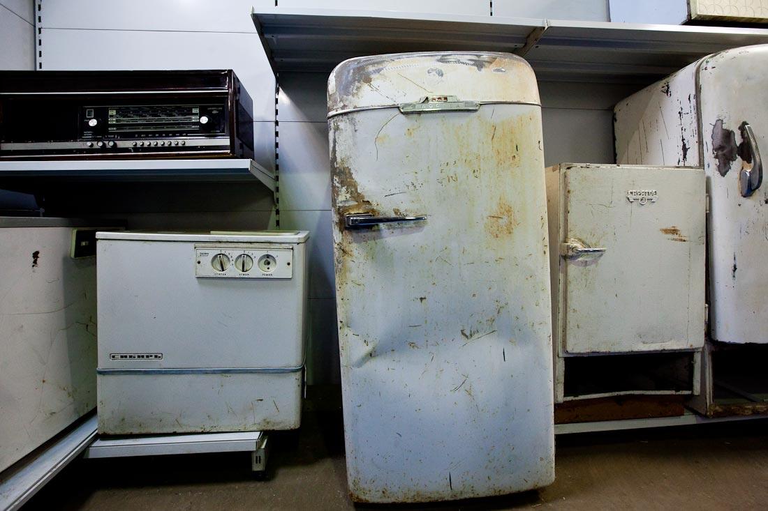 сдача холодильника в металлолом