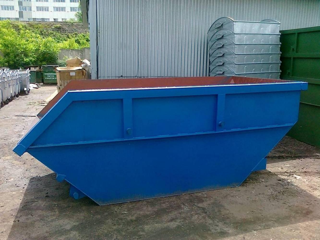 контейнер для крупных отходов