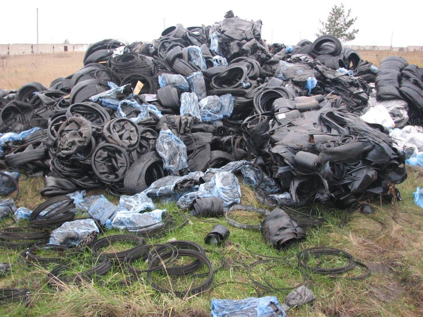 свалка промышленных отходов