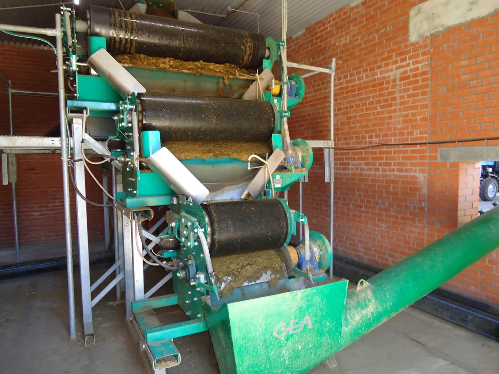 Оборудование для переработки помета