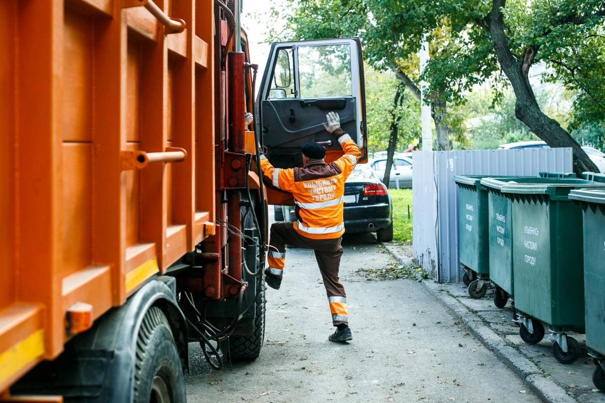 Вывоз мусора многоквартирных домов