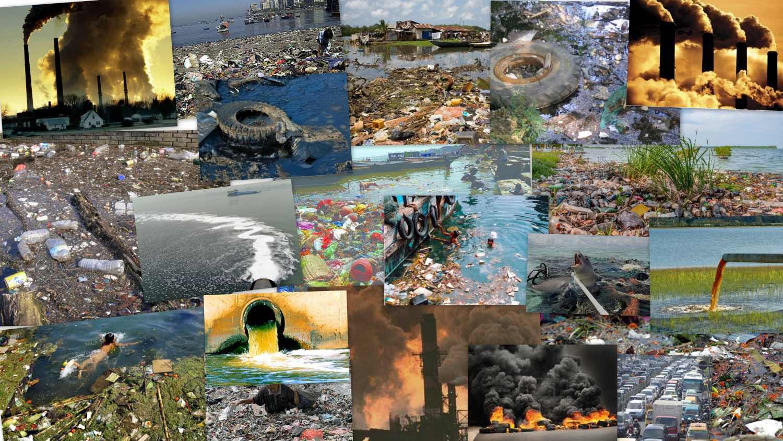 глобальные виды загрязнений