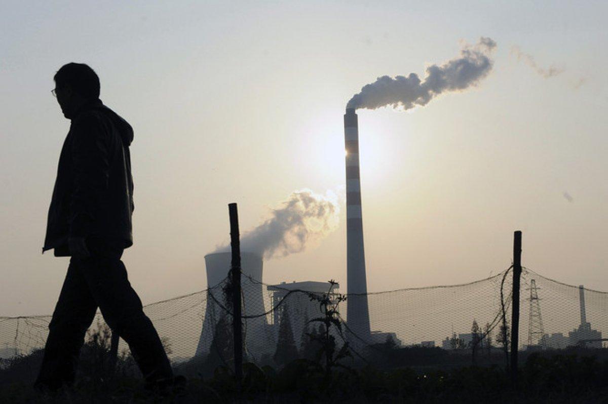 Выброс токсинов в атмосферу