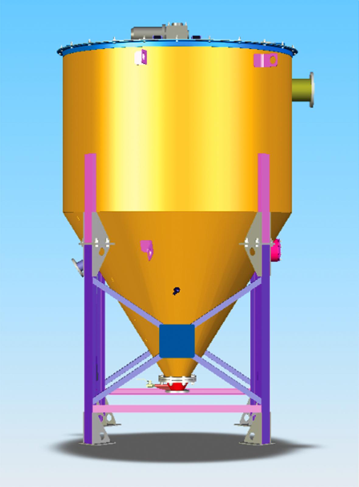 вертикальный отстойник воды
