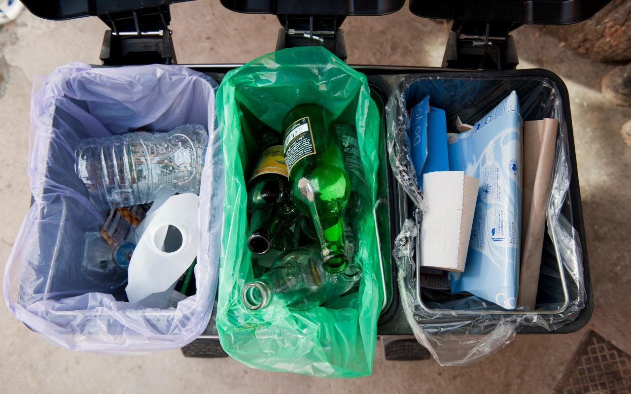 Сортировка домашнего мусора