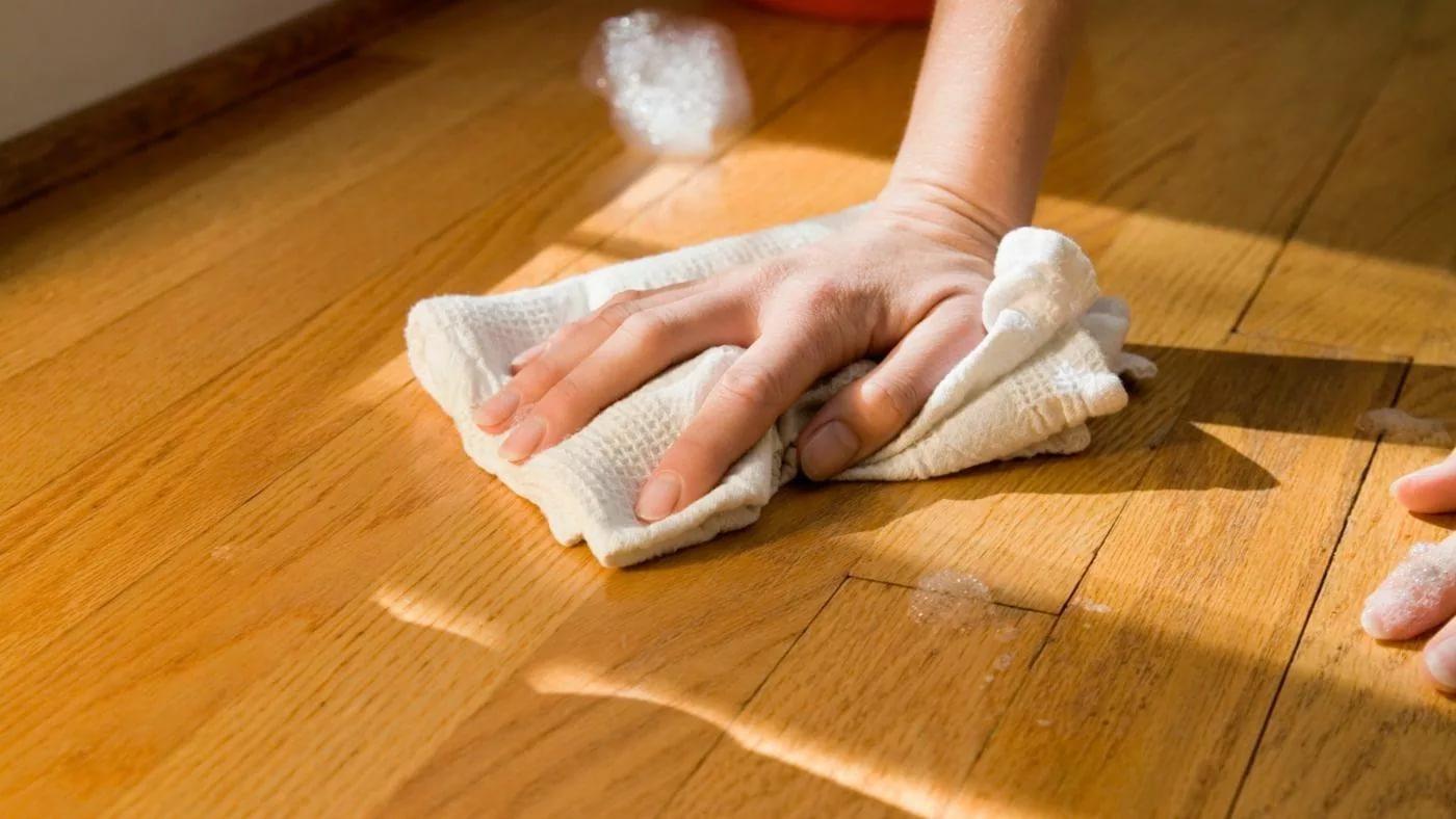использование ветоши из натуральной ткани в уборке