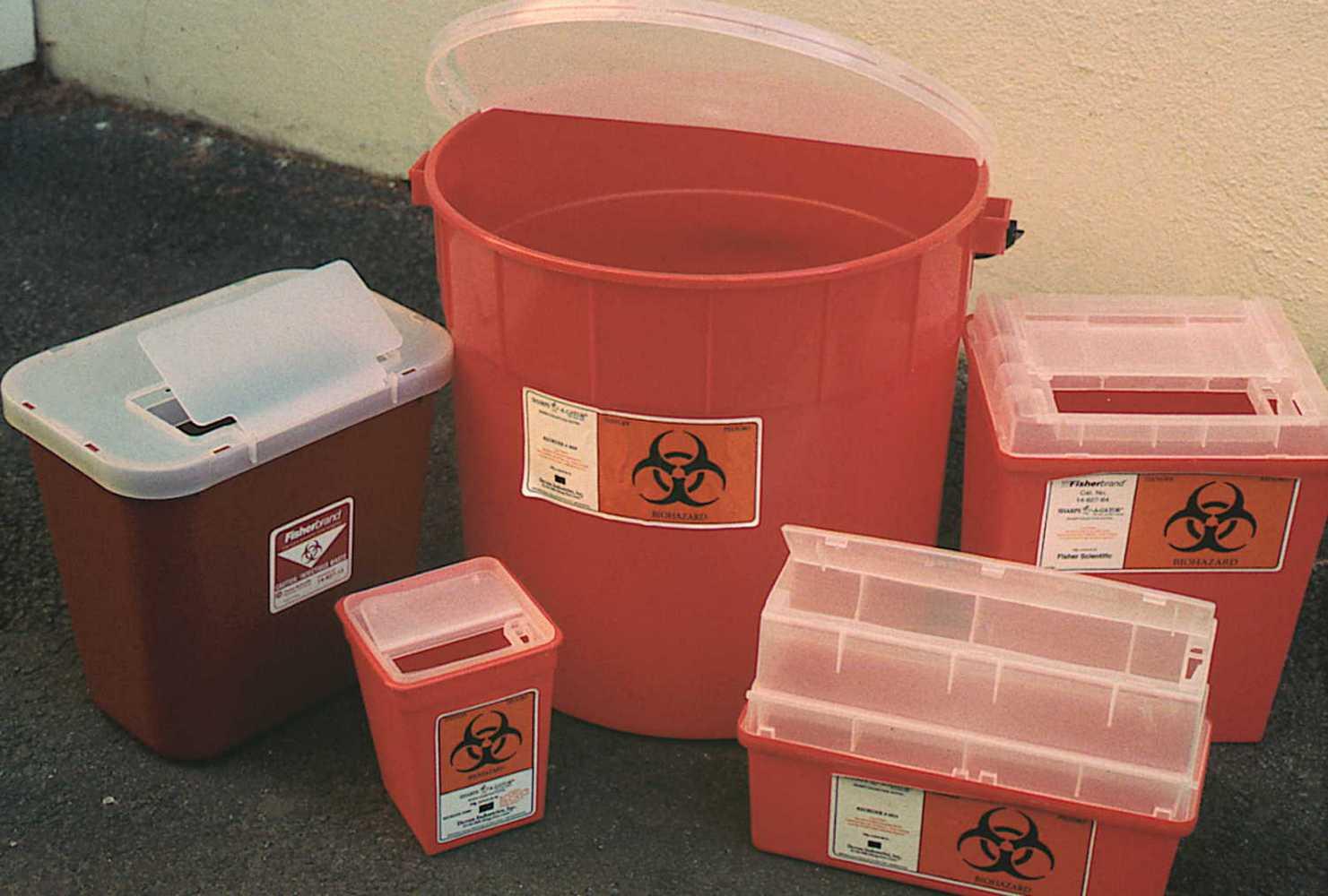контейнеры для хирургических отходов