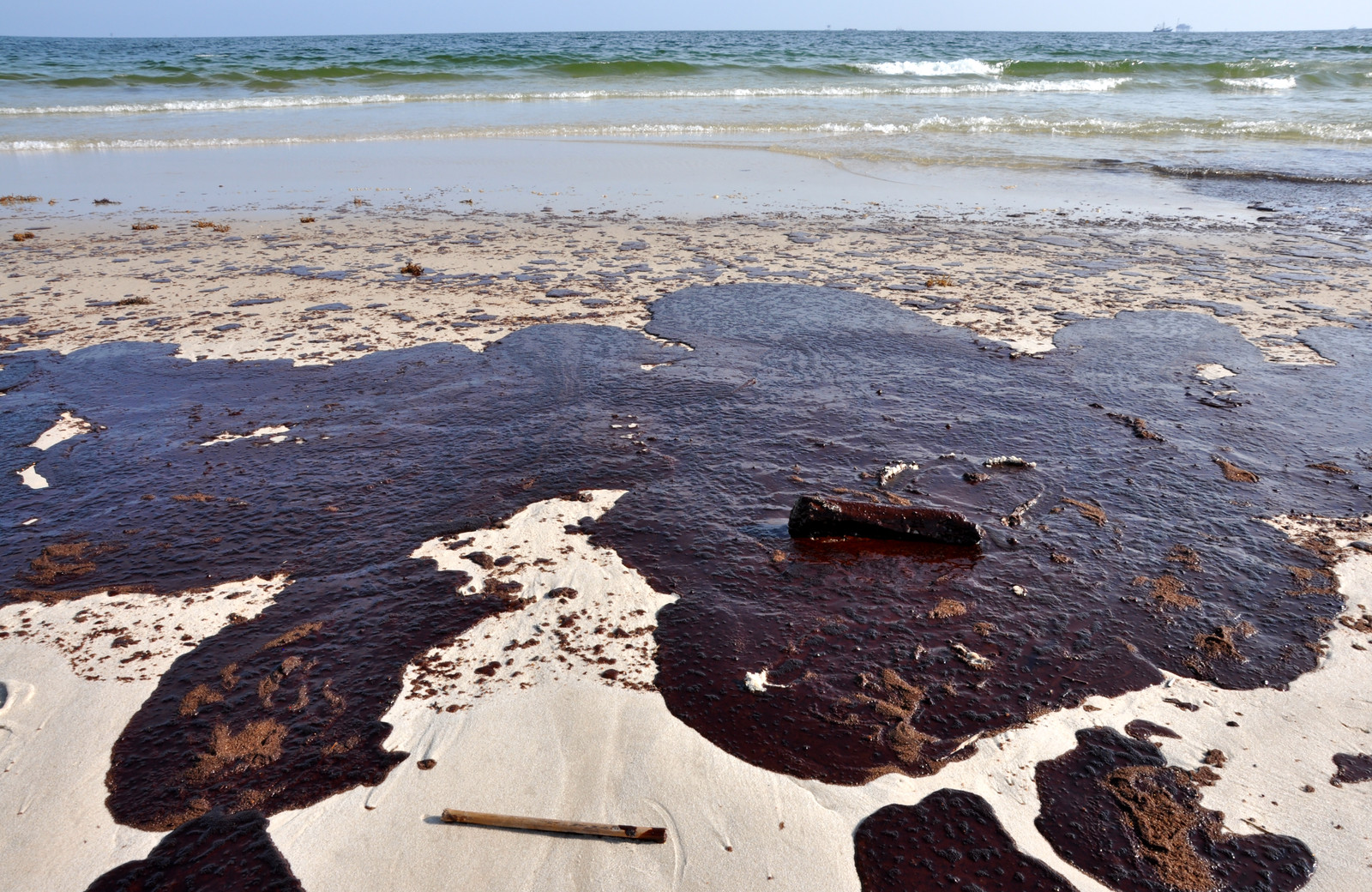 разлив нефти в Белом море