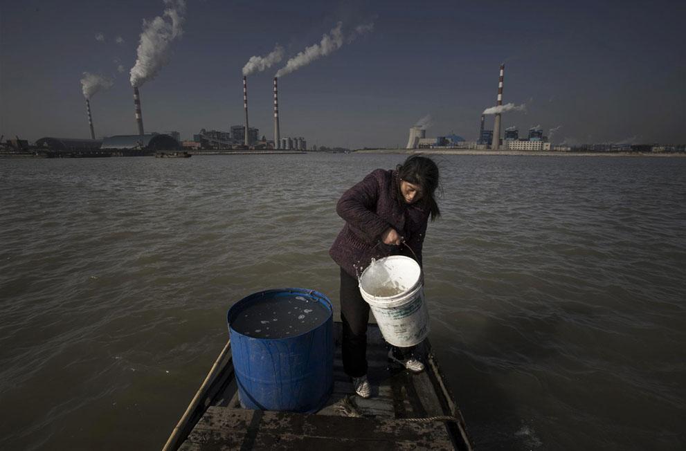 Загрязнение водных источников Японии