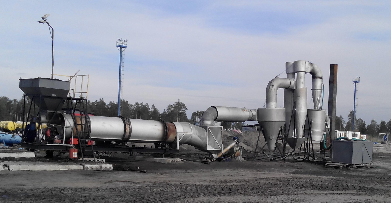 установка утилизации нефтешламов