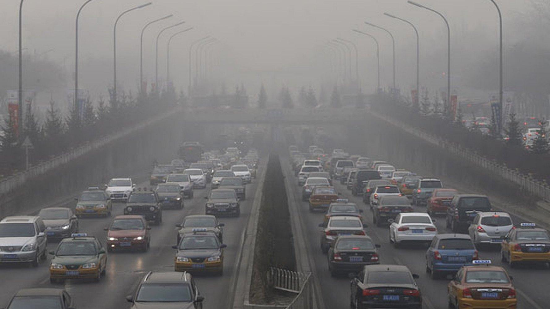 автомобильное загрязнение