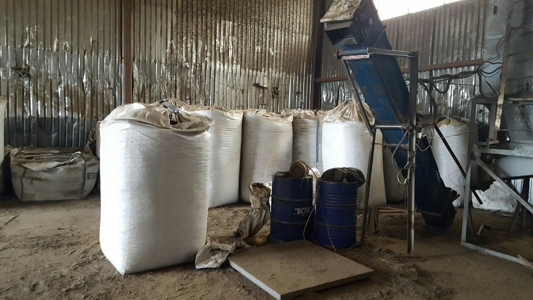 линия производства топливных брикетов из отходов подсолнечника