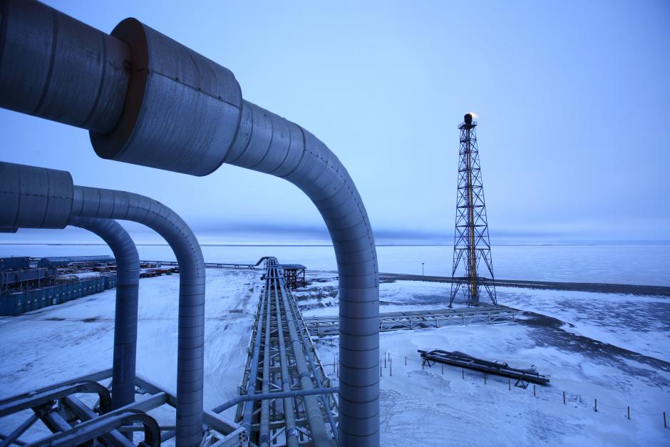 Добыча газа за Полярным Кругом