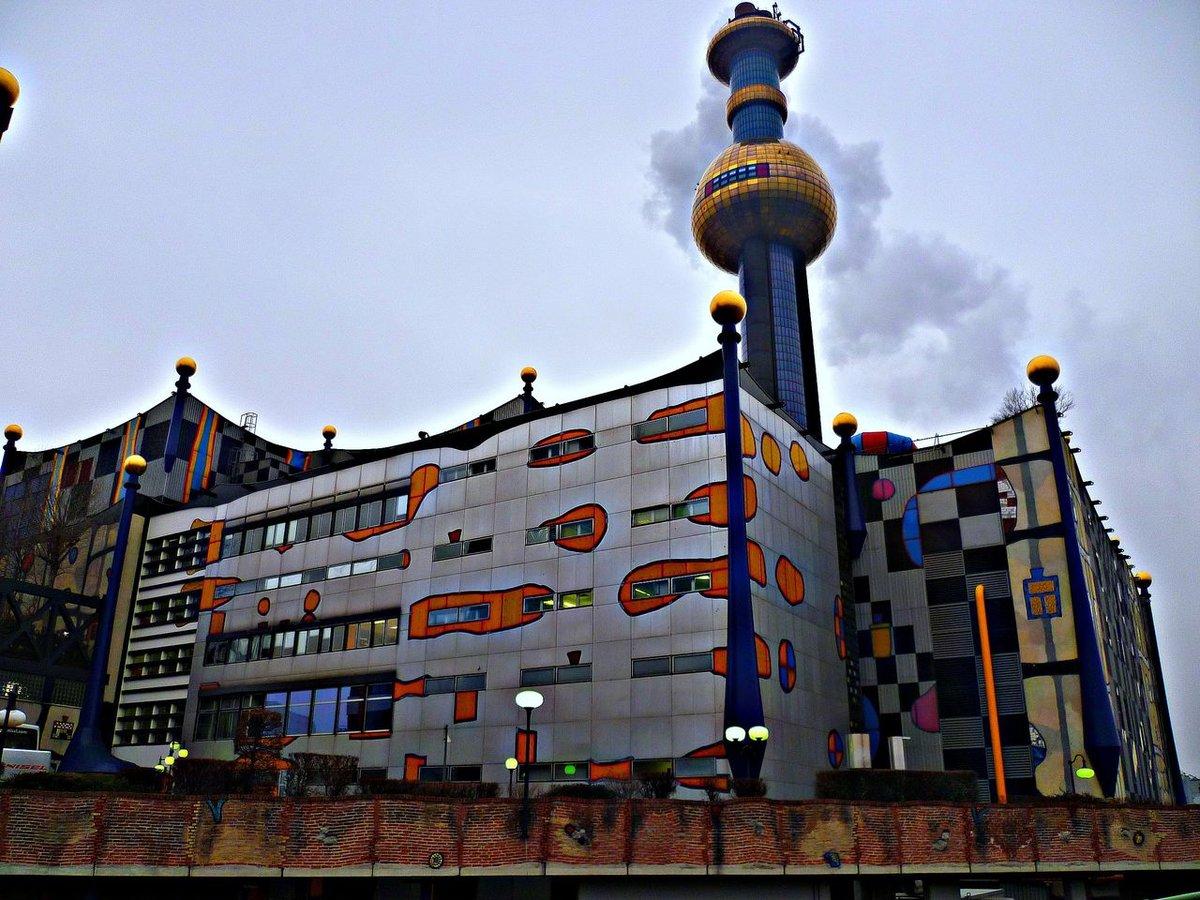 Шпиттелау — мусоросжигательный завод в Вене