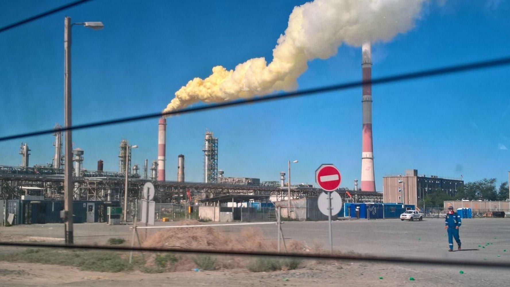 загрязнение атмосферы серой