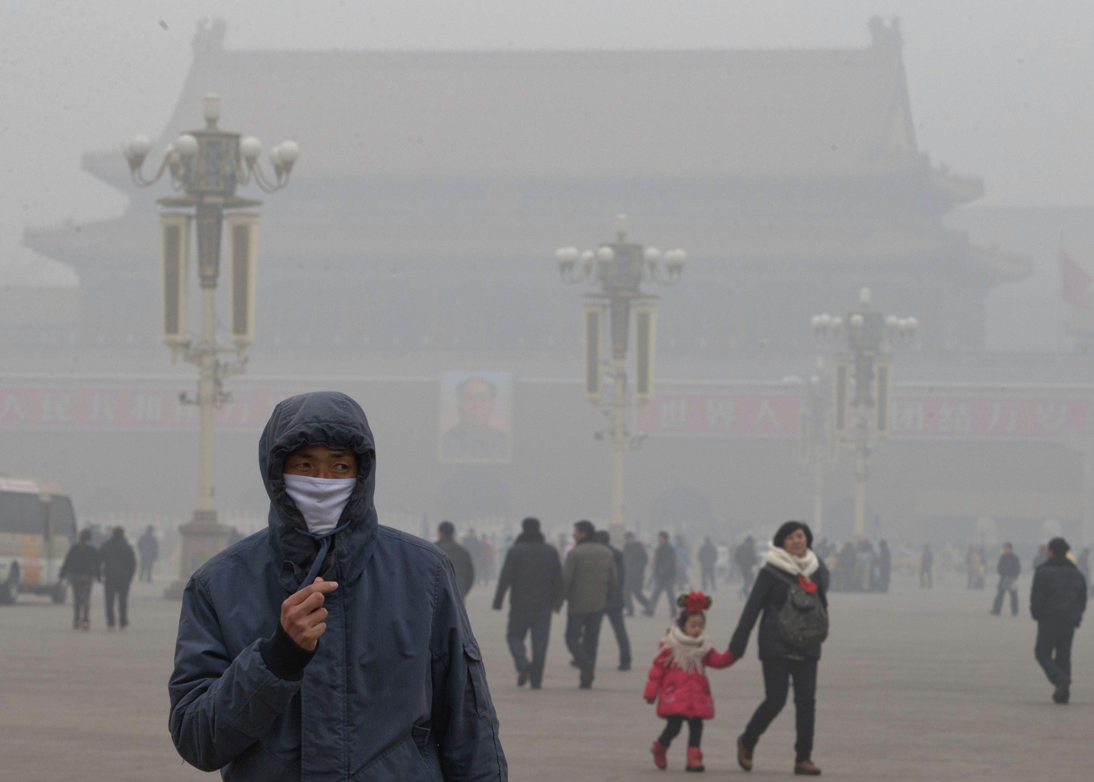Влияние грязного воздуха на здоровье человека