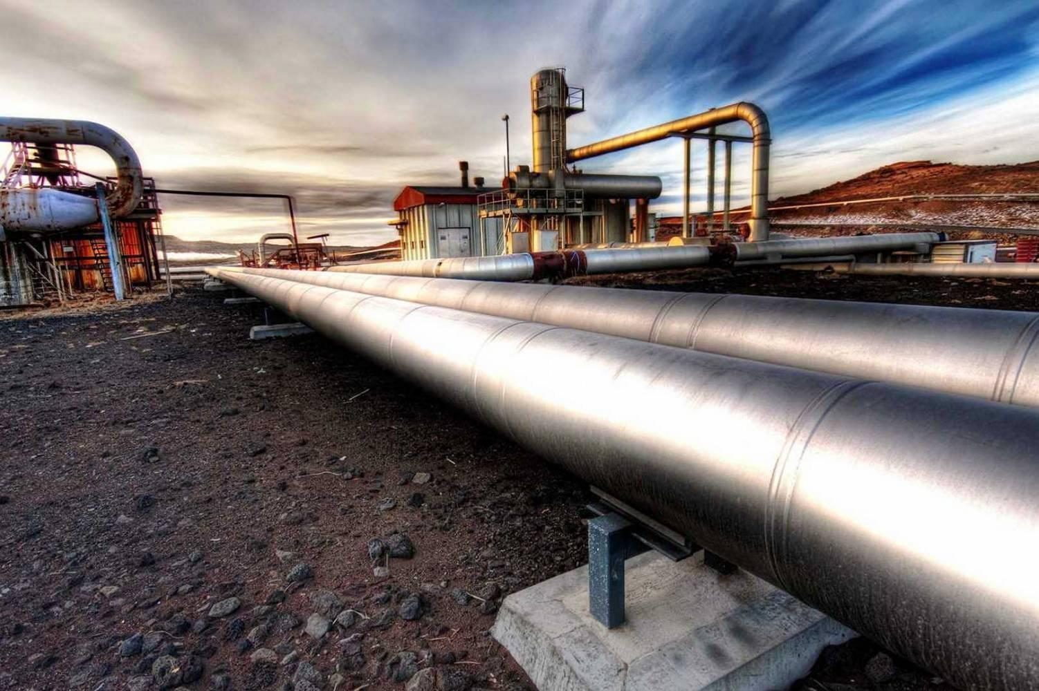 газовый трубопровод