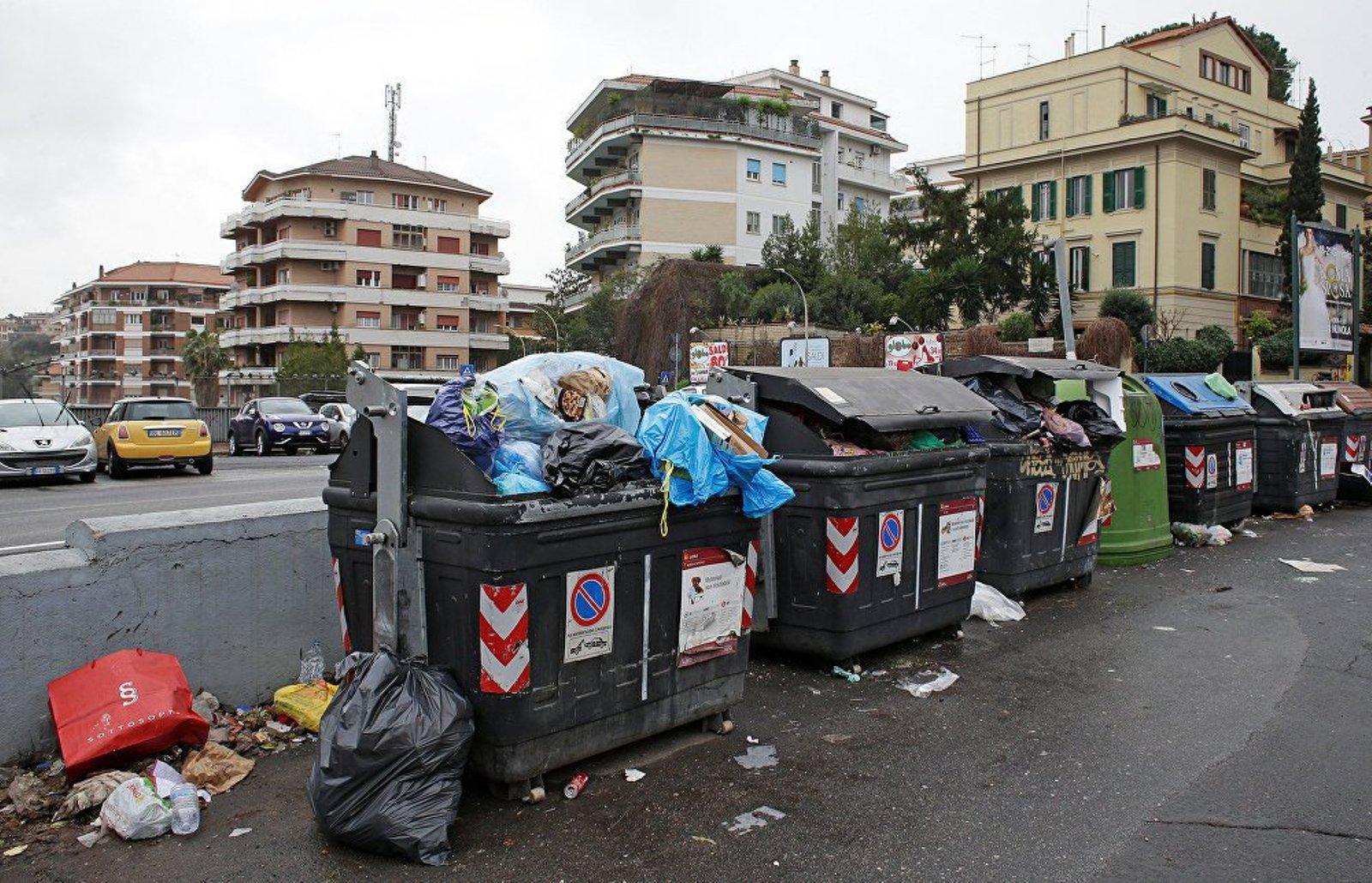 Мусор в Италии