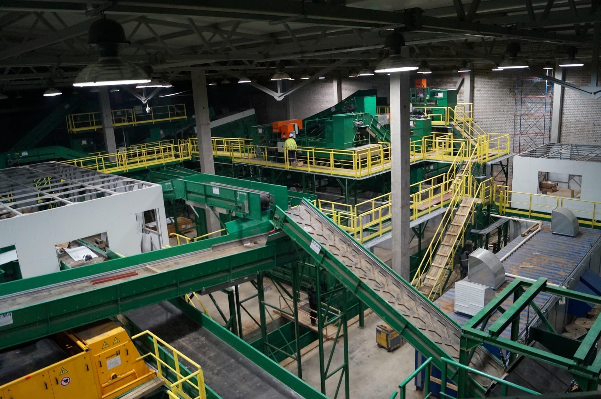 Оборудование для мусороперерабатывающего завода
