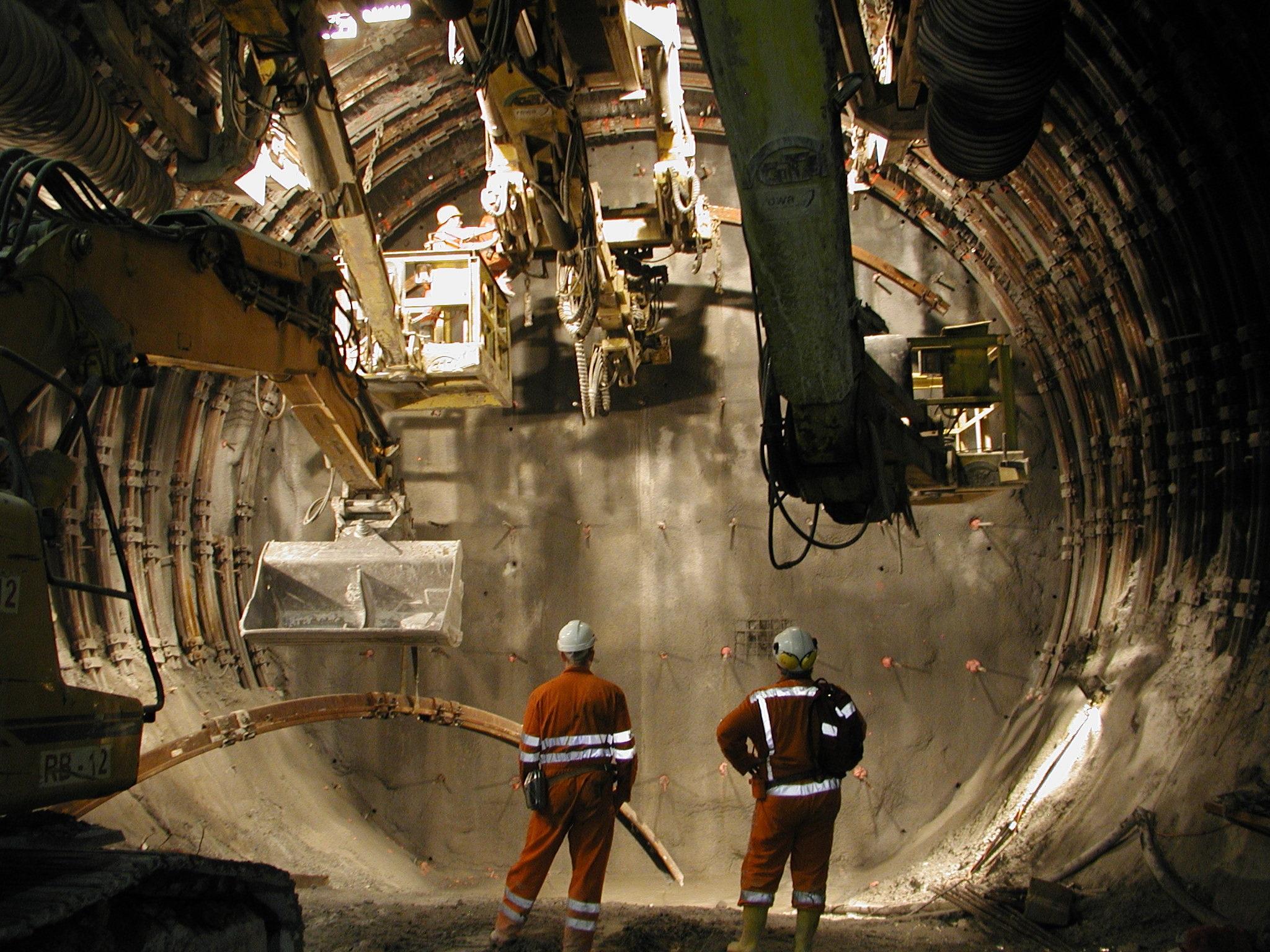 Подземные горные работы