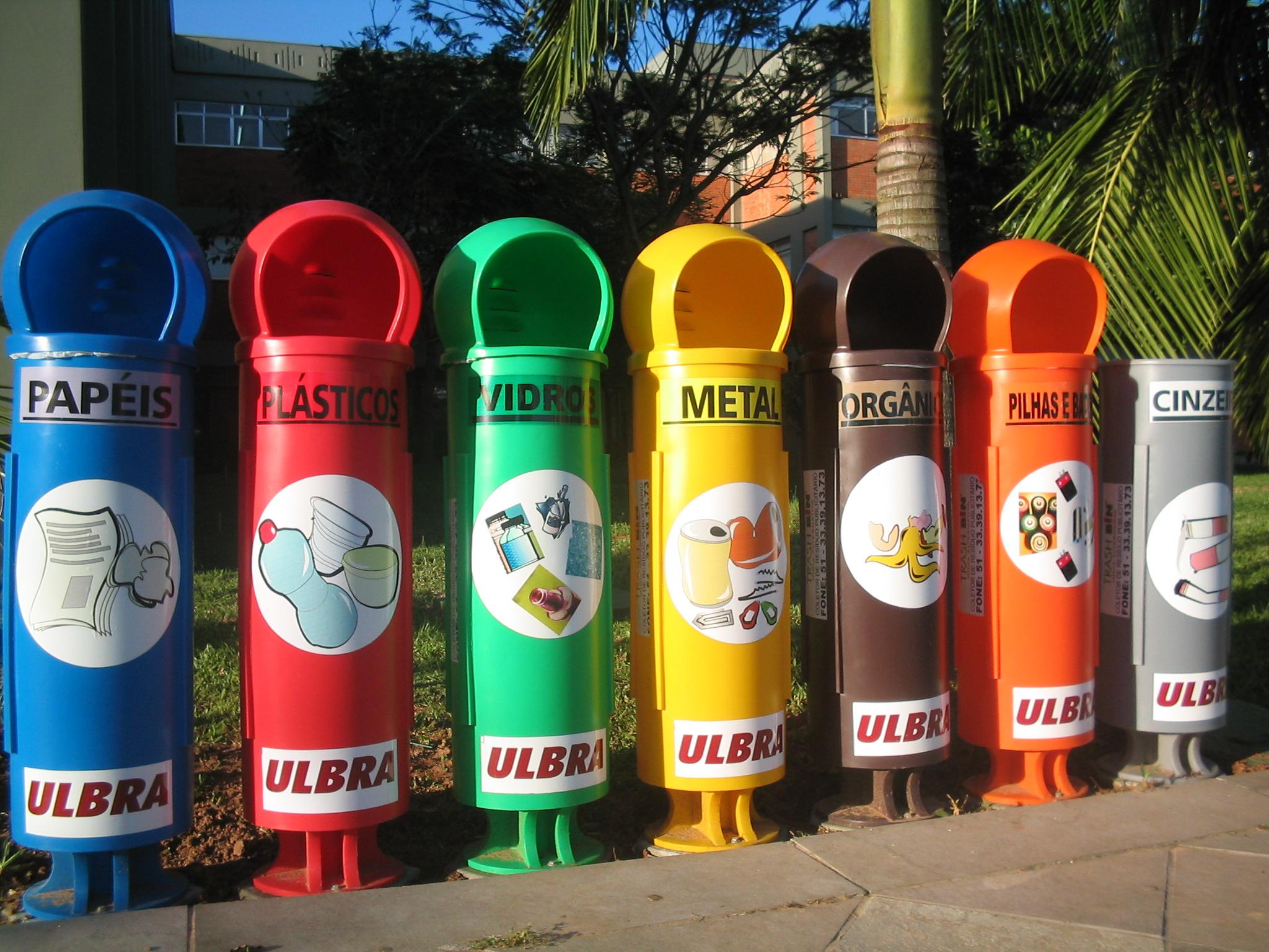 Сортировка мусора в Италии