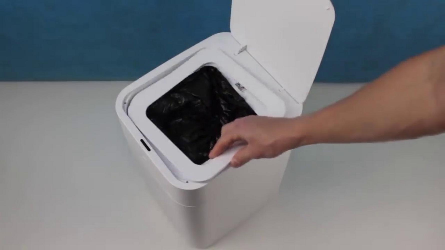 умное мусорное ведро xiaomi