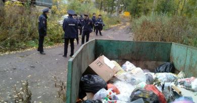 Кто должен убирать мусор вокруг контейнеров
