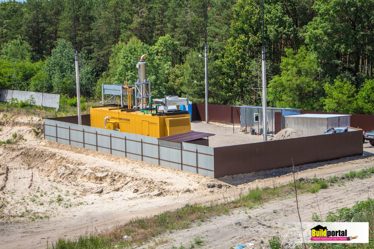 Производство биогаза из отходов