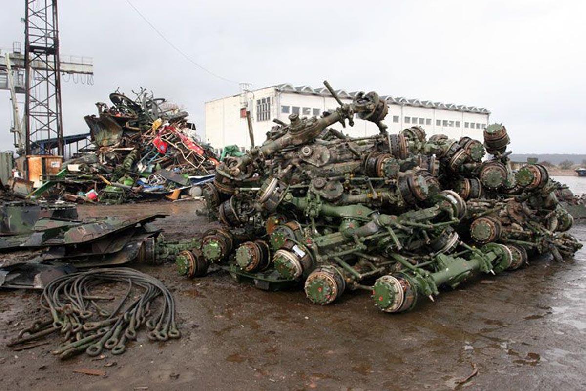 Утилизация военной техники