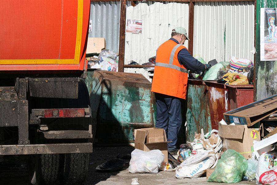 проблема мусора в частном секторе