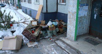 штраф за мусор в подъезде