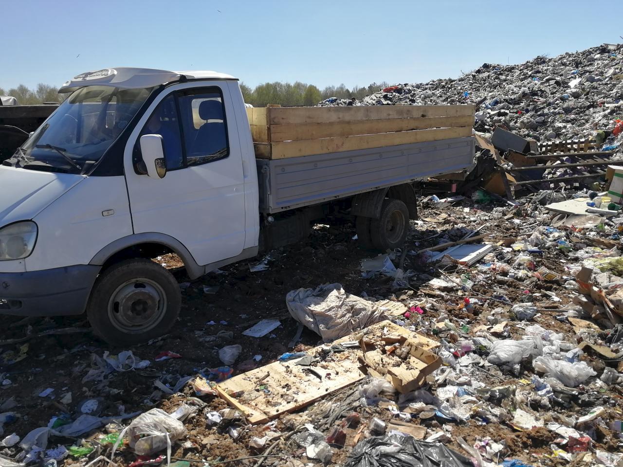 Талоны на вывоз мусора