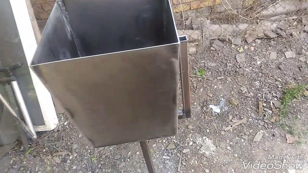 урна для мусора своими руками