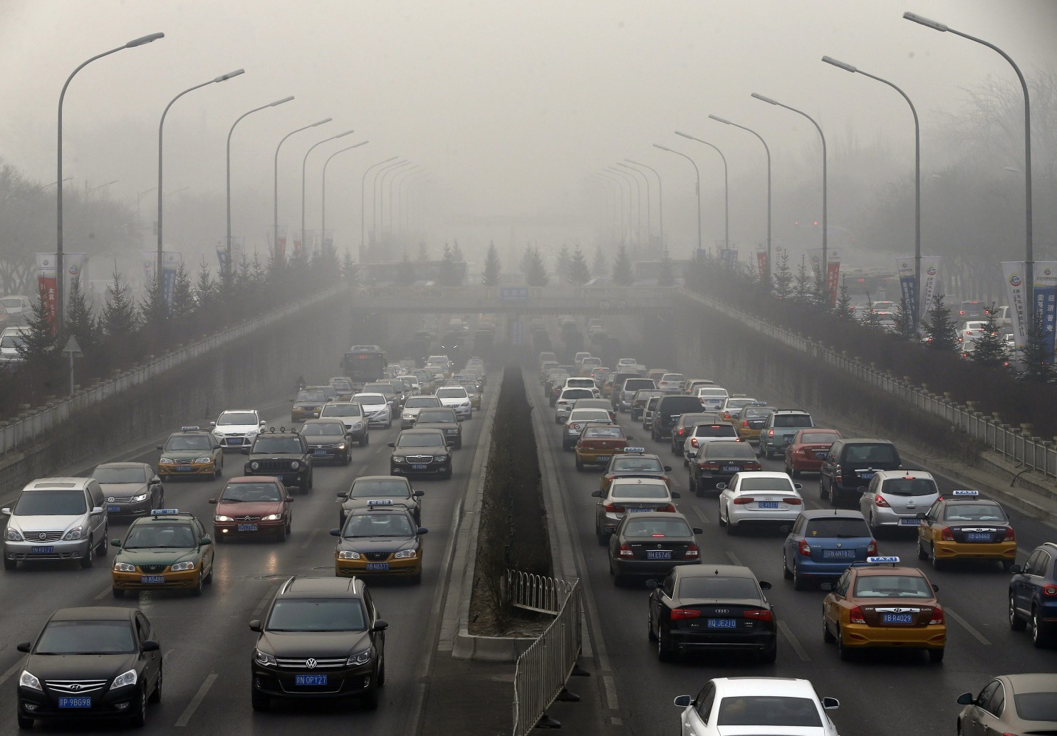 загрязнение атмосферы