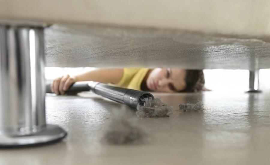 пыль в квартире