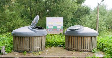 заглубленные контейнеры для мусора