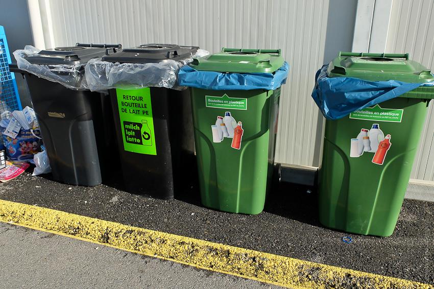 Как устроен сбор мусора в Швейцарии