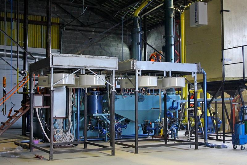 Пиролизная установка утилизации