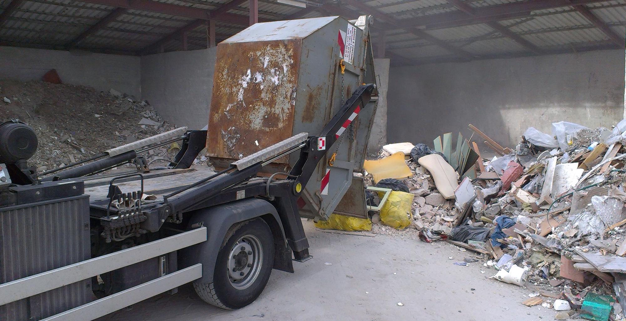 Вывоз твердобытовых отходов