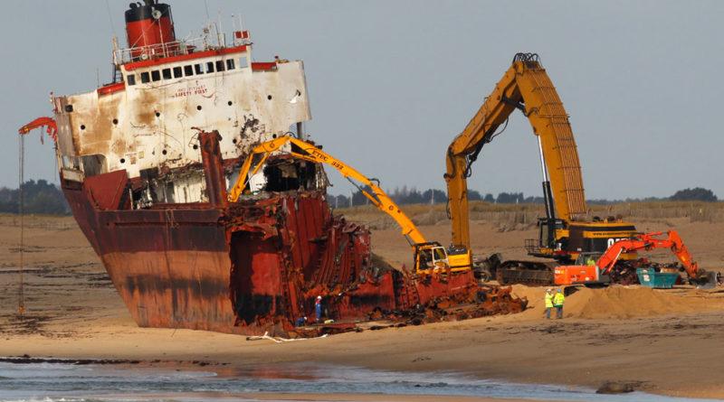 утилизация судна на металлолом