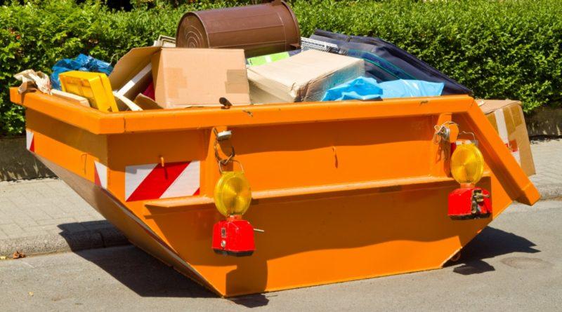 контейнер с крупным мусором